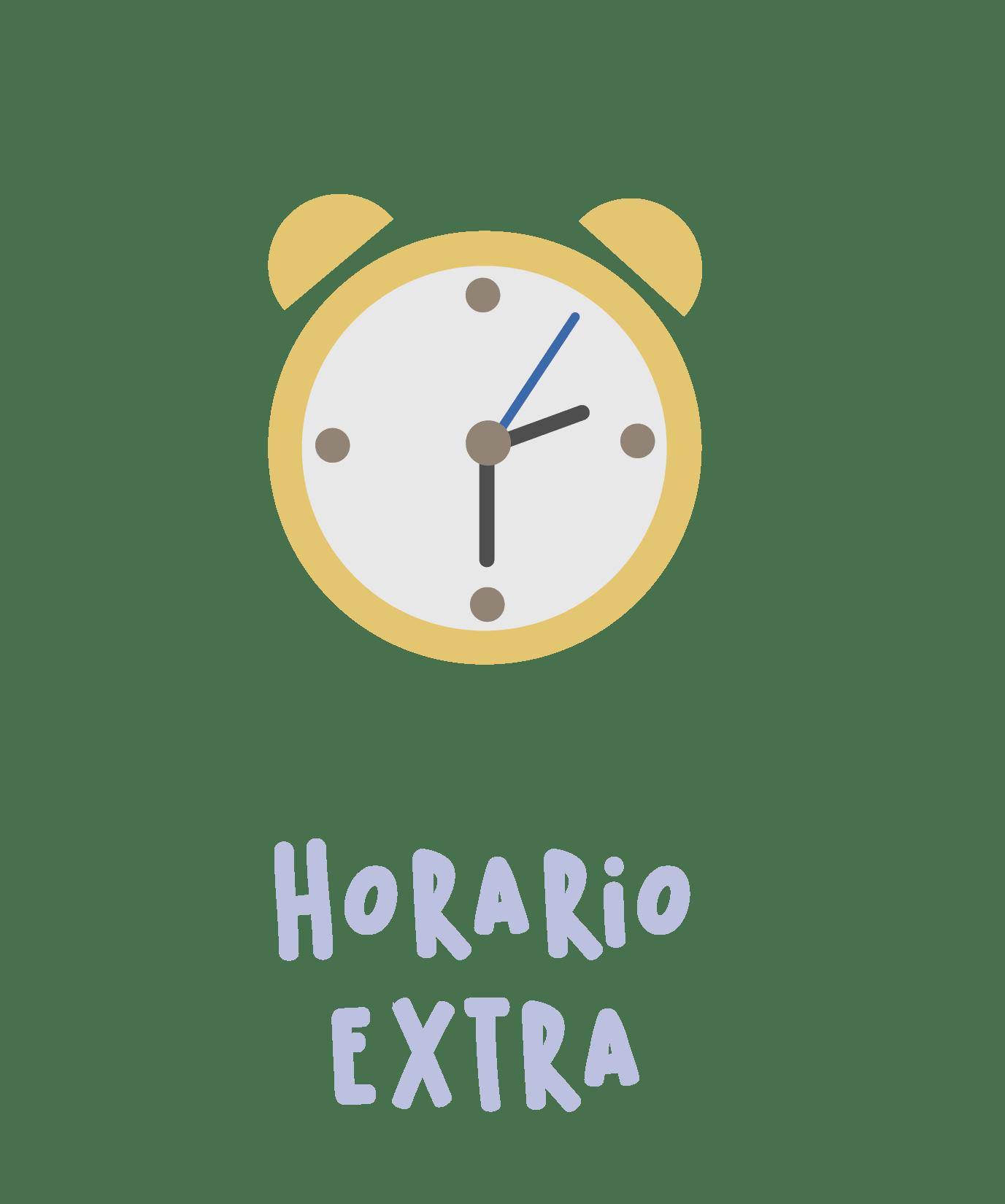 Horario extra