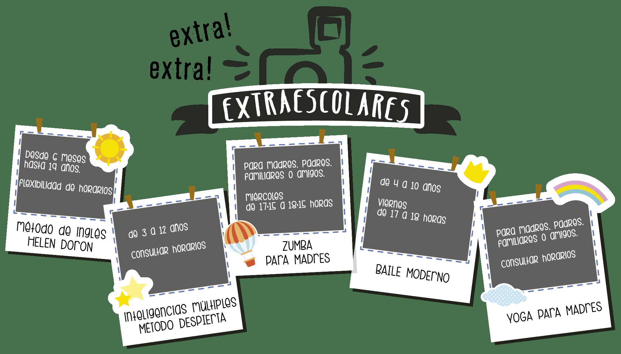 Actividades extraescolares 2016-2017